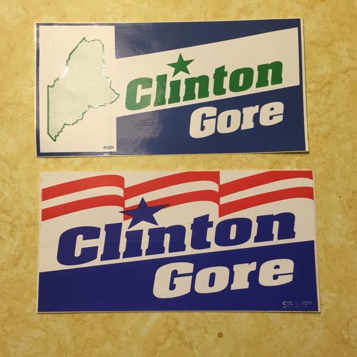 Hey, remember Clinton / Gore. That could happen again, right? I may put this on my car.