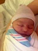 Welcome to this world Olivia Leigh
