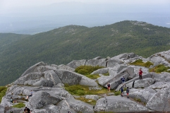 Hikers at the summit.