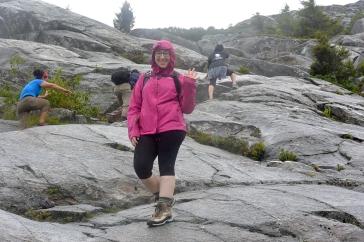 Megan durin a slippery descent
