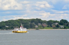 The Peaks Island ferry making a run.