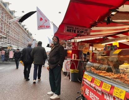 The Albert Cuyp open air market.