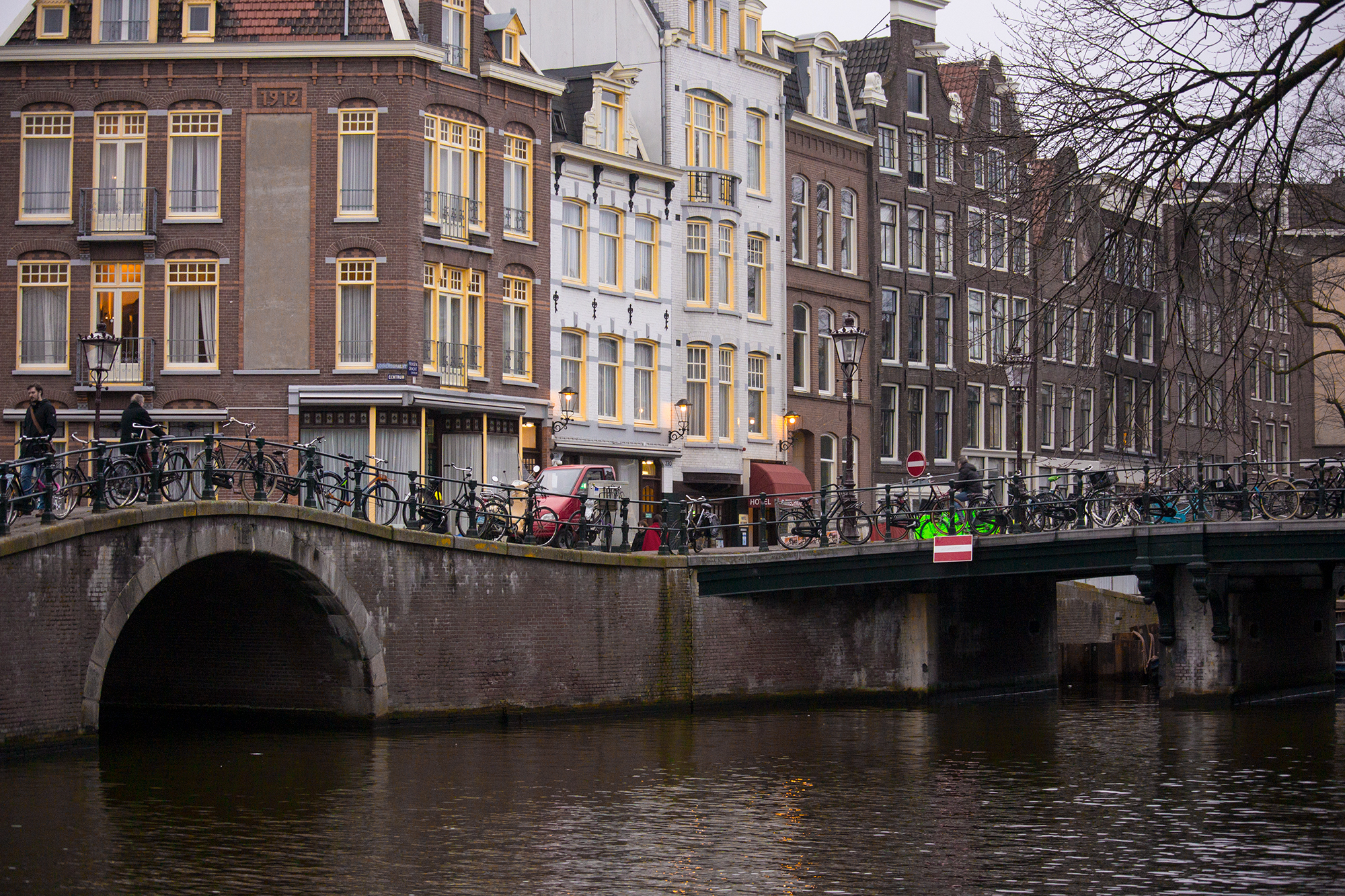 The Streets And Canals Of Amsterdam