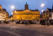 The Royal Palace of Amsterdam.